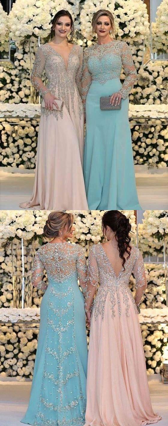 Elegant Long Prom Dresses Mother Of The Bride Dresses Evening Dresses M6260 Vestidos Longos Elegantes Belos Vestidos Vestidos