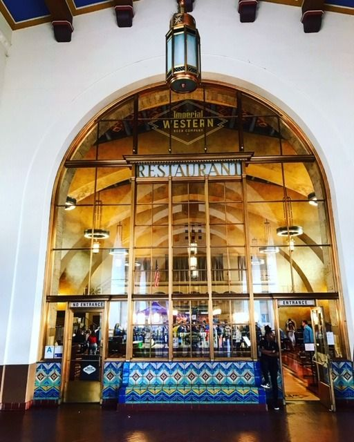 When At Union Station In Downtown Los Angeles Grab A Cold One And A Snack At Imperial Western Beer Company G Union Station Downtown Los Angeles Beer Company
