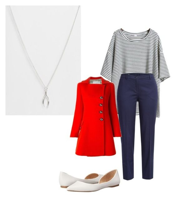 """Untitled #1149"" by natalia-bravo-echevarria ❤ liked on Polyvore featuring Made, Jil Sander Navy, Aquilano.Rimondi and Steve Madden"