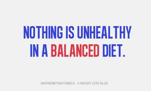 Moderation. Enjoy everything.