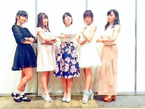 水瀬いのりさんと種田梨沙さんと三澤紗千香さんと千菅春香さんと日高里菜さん