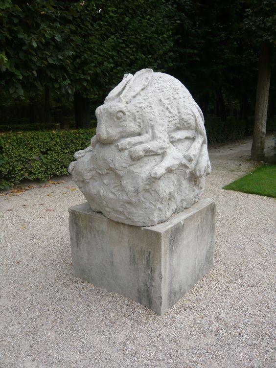 Dewar et Gicquel chez Rodin - l'idée