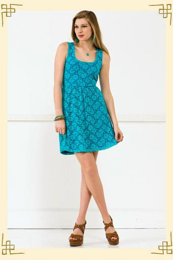 I just bought this dress! (Not to sound arrogant, but it looked better in person than on the model...)
