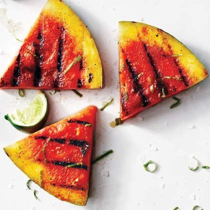 This sriracha-lime grilled watermelon comes with a hot kick. | Health.com