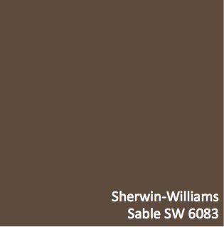 sable sw 6083 orange paint color sherwin williams - Sable Color