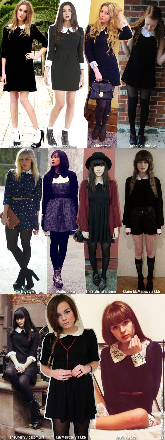 peter pan collar dresses= fav fashion find