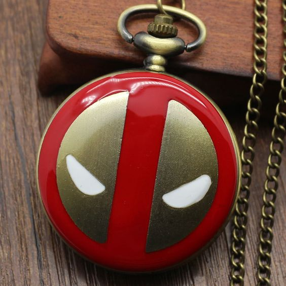 Alice in Wonderland Nightmare Before Christmas Captain American Superman - Variety Pocket Watches
