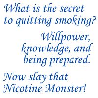 Secret to Quit Smoking....
