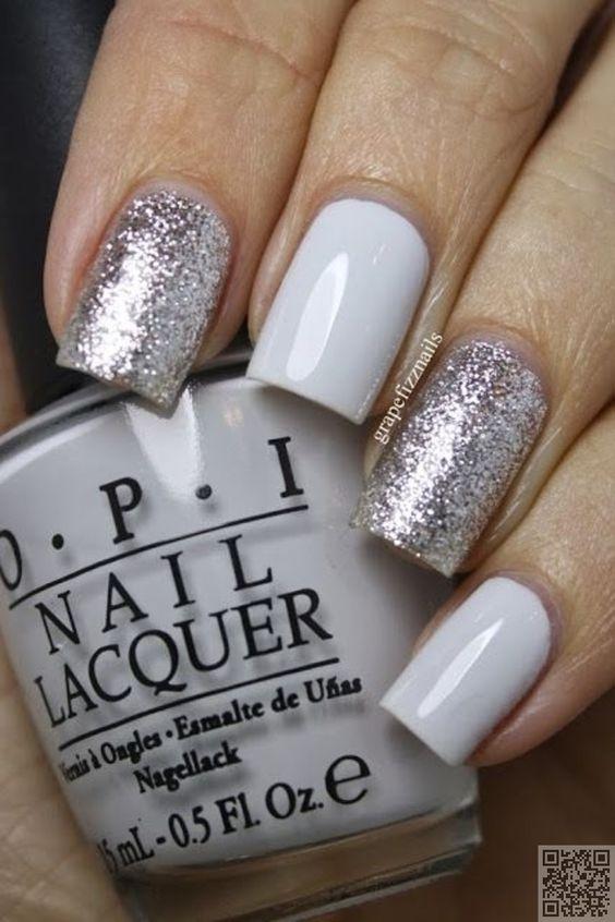 15. tous les #autres ongles - #Hiver 22 mariage Nail Art #Designs pour votre…