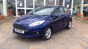 2015 (15) Ford Fiesta 1.25 82 Zetec [FORD SYNC] For Sale In Scunthorpe, North Lincolnshire