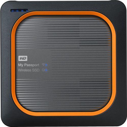 Wd 250gb My Passport Wireless Ssd External Hard Drive Ssd Wireless