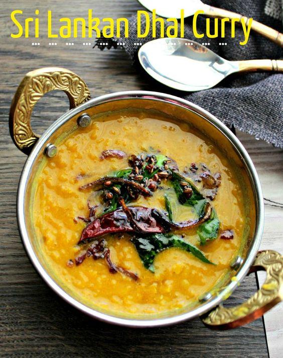 Sri Lankan Dhal Curry - My SriLankan Recipes
