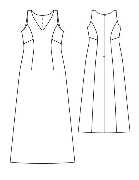 Burda patroon jurkje (op bestelling)