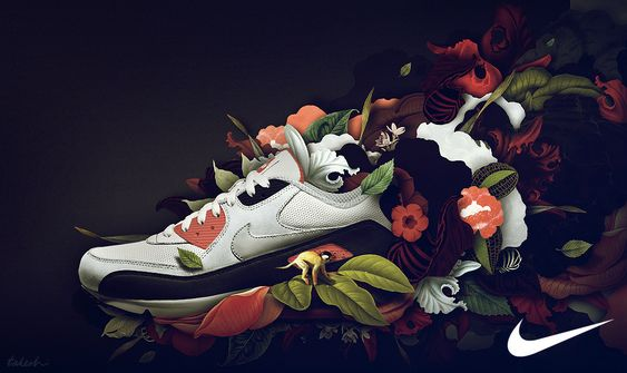 #Illustration #Shoe #Photoshop | Illustration | Pinterest | Photoshop,  Illustrations and Nike design