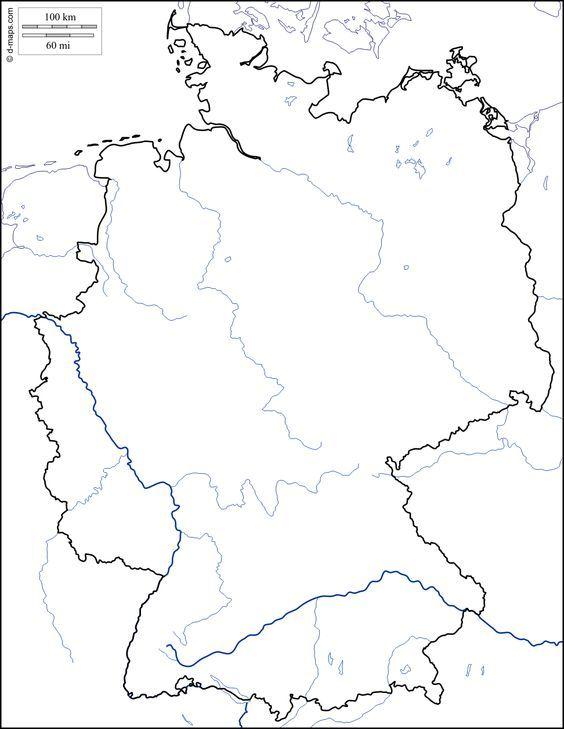 wasserstraßen deutschland karte kostenlos Deutschland : Kostenlose Karten, kostenlose stumme Karte