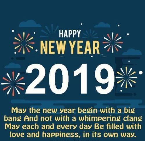 New Year Status Quotes 2019 For Boss Colleague And Friends Quotes About New Year Happy New Year Quotes Happy New Year Status