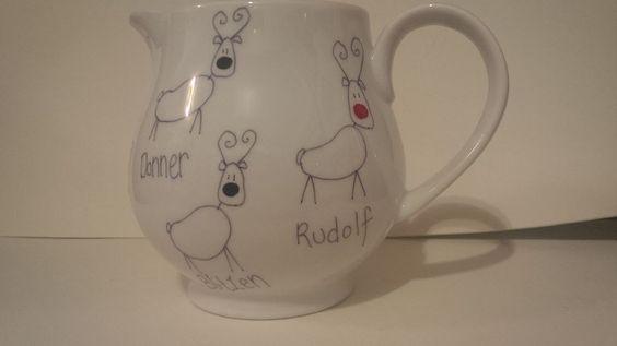Santa's reindeer jug!!!