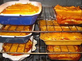 The Full Plate Blog: Big batch of enchiladas...