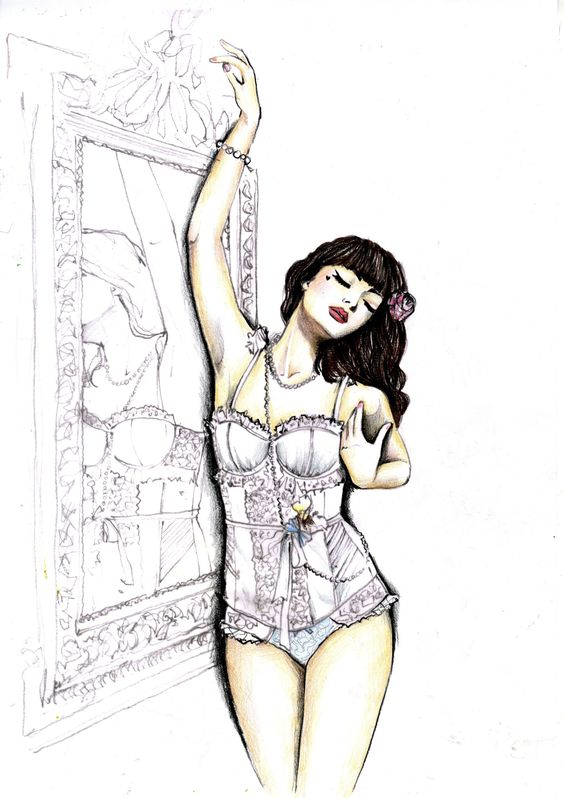 TALLULAH1 DRAWING FINAL Interview Fashion Illustrator and Lecturer Naomi Austin:
