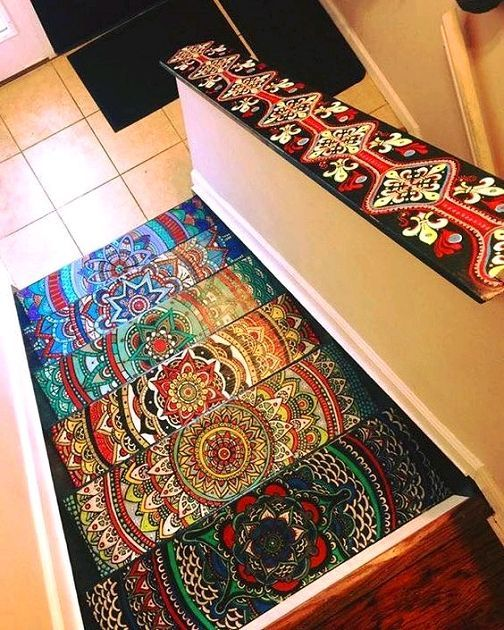 8 Best Floors Galore Images On Pinterest | Painted Rug, Mandalas And  Painting