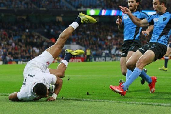 Anglaterra 60-3 Uruguai #RWC2015 #ENG vs #URU #CarryThemHome vs #VamosTeros