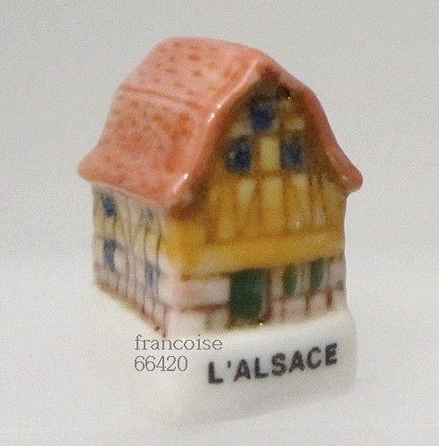 Feve De Collection En Porcelaine De La Serie Les Facades Francaises Feves Collection De Feves Porcelaine