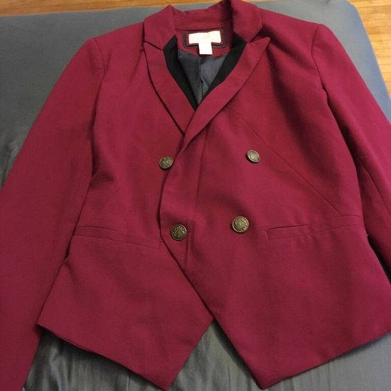 For Sale: Wine Color Jacket for $25