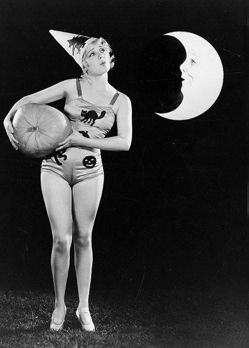 Anita Page. Happy Halloween from Hollywood - Carole & Co.