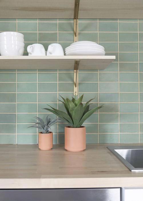 3 Green Kitchen Backsplash Ceramic Kitchen Tiles Beautiful Kitchen Tiles