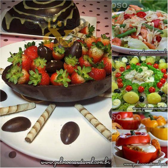 #BomDia! Já escolheu as receitas para preparar no Domingo? Deliciosas e Saudáveis Receitas para o Domingo de Páscoa!  Receitas aqui: http://www.gulosoesaudavel.com.br/2016/03/25/deliciosas-saudaveis-receitas-para-domingo-pascoa/