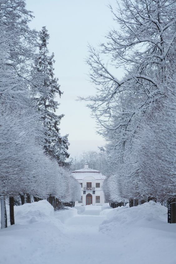 The Lower Park, View of the Marly Palace © Peterhof Museum / Slava Korolev
