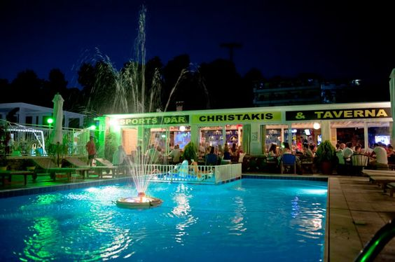 Sports Bars Skiathos And Refreshing Drinks On Pinterest