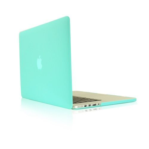 "TIFFANY BLUE Rubberized Case for NEW Macbook Pro 13"" A1425/A1502 with Retina display"