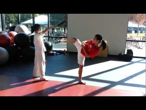 Team-M Taekwondo: Side-Kick drills  - Beautiful kicks, steady pace with excellent reset for physical memory.