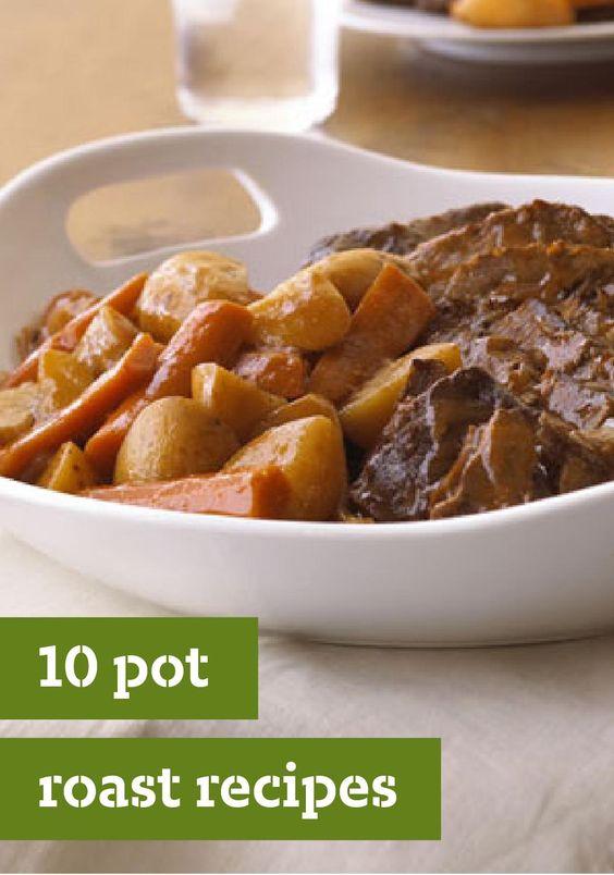 Pot roast recipes, Pot roast and Roast recipes on Pinterest