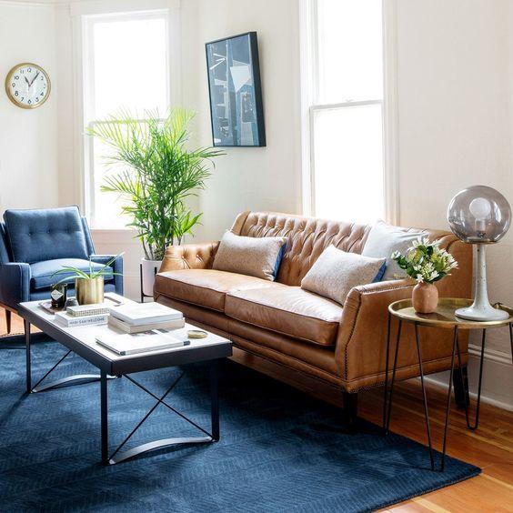 Chọn thảm cho ngày xuân và hợp với bộ sofa da tphcm nhà bạn