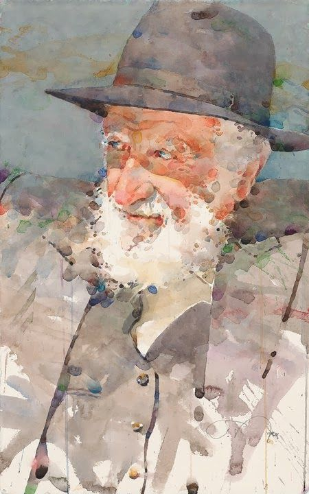 Ted Nuttall WATERCOLOR #watercolor jd: