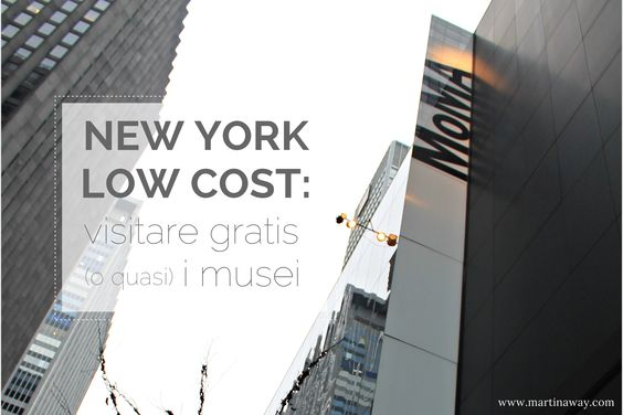 New York low cost: visitare gratis (o quasi) i musei.