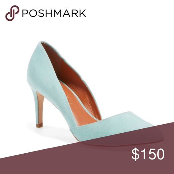 Rebecca Minkoff Brie Mint Pumps Heels Soooo cute! Barely worn ! ❤️Also prices are always negotiable ❤️ Rebecca Minkoff Shoes Heels