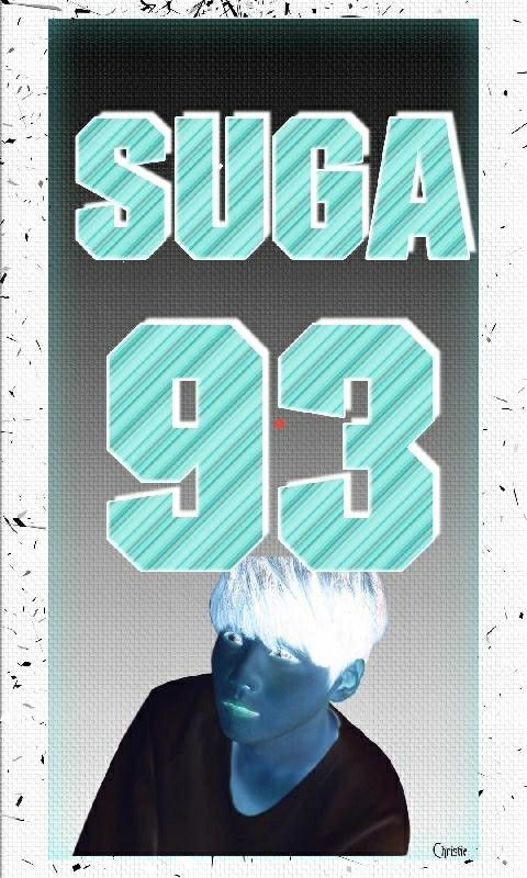 Stare At The Red Dot For 30 Sec Without Blinking Then Look At A Wall Or Ceiling And Blink As Fast As U Can My Pictures Bts Suga