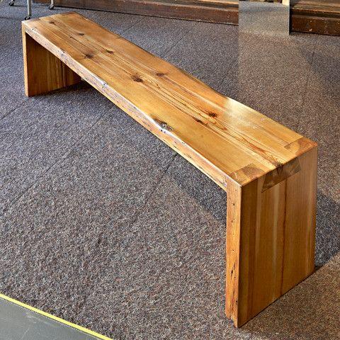 Natural Wood Bench Decor Pinterest Natural Wood