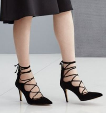 Vince Camuto lace-up pumps