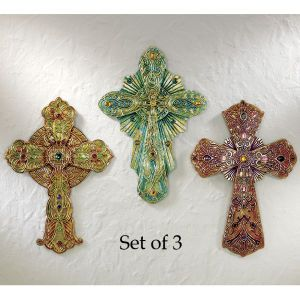 Bejeweled Crosses, Expressions