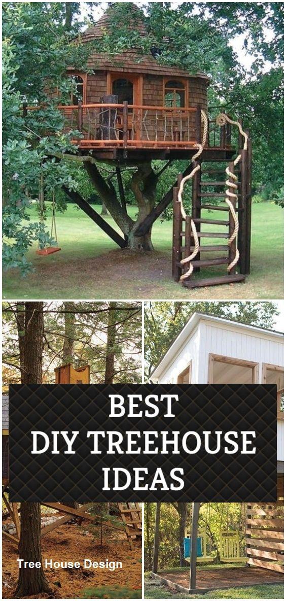 Diy Tree House Design Tree House Tree House Diy Tree House Designs