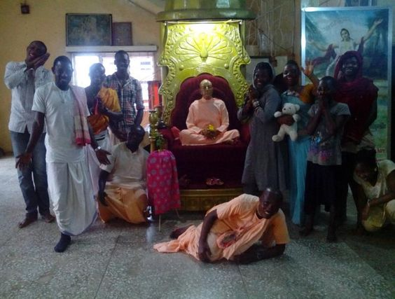 Iskcon Benin: As the world holy name week migrates to it's ends...