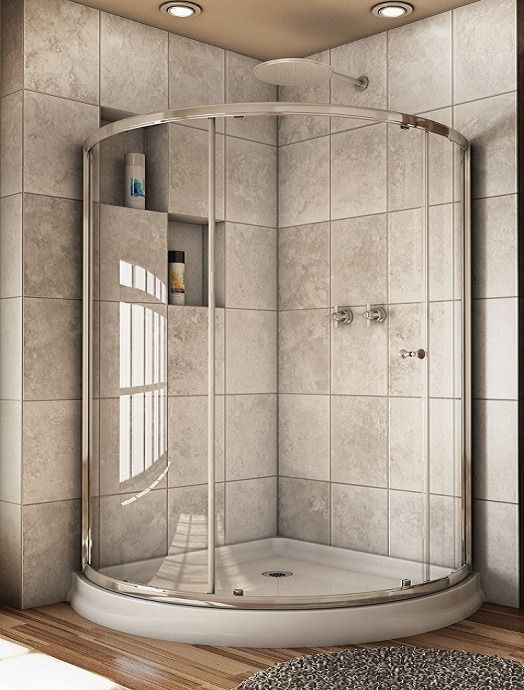 Pros And Cons Of Glass Doors Corner Shower Doors Shower Stall