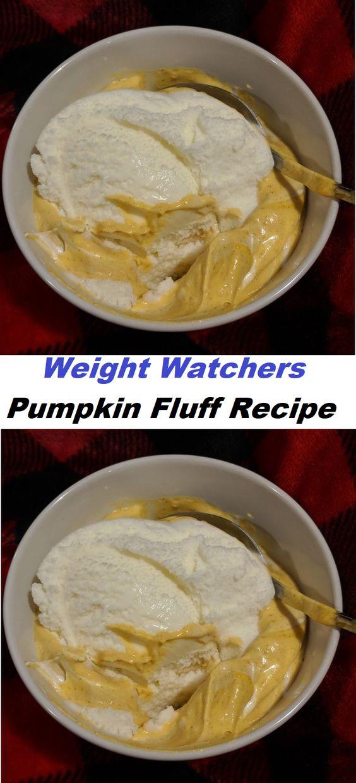 Weight Watchers Pumpkin Fluff Recipe // #Weight #Watchers #Pumpkin #Fluff #Recipe