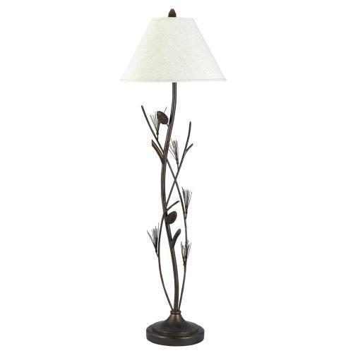 150w 3 Way Pine Twig Wrought Iron Floor Lamp Rustic Floor Lamps