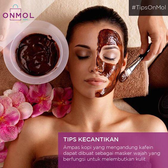 Bahan alami memang jauh lebih baik untuk kulit..Yuk, dicoba! Cek kosmetik alami lainnya disini ... #OnMolID #Info #Fakta #Tips #Kopi
