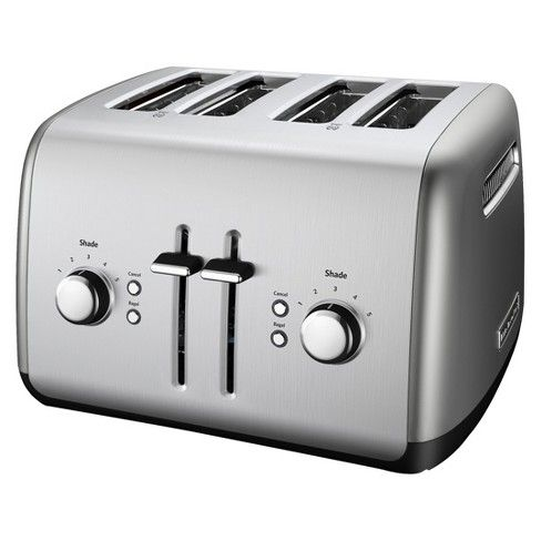 Kitchenaid 4 Slice Toaster With Built In Manual High Lift Lever Target Toaster Kitchen Aid Four Slice Toaster
